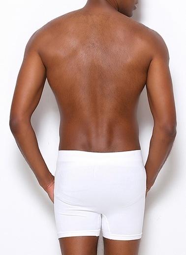 Miorre Dikişsiz Boxer Beyaz
